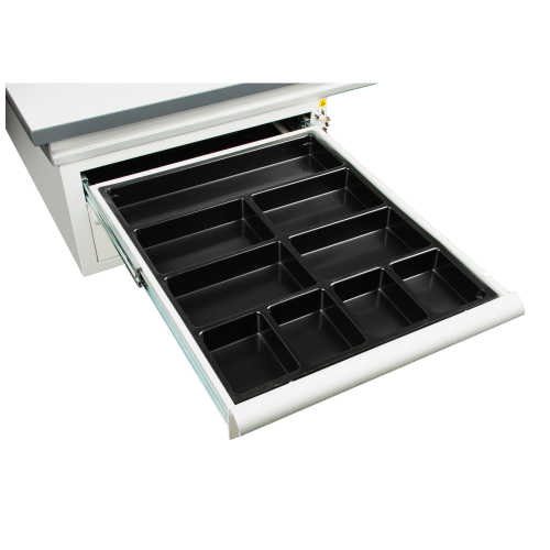 Plastic ESD trays